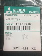 Mitsubishi E17 103 100 Air Filter Mitsubishi SLZ-KA090NA/KA12NA/KA15NA Mr Slim