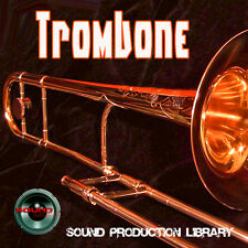 TROMBONE REAL - UNIQUE Perfect WAVE/NKI Multi-Layer Samples Library on DVD