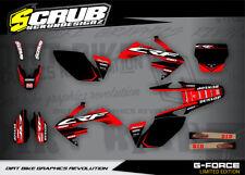 Honda graphics CRf 250R 2006 2007 2008 2009  decals '06 - '09 SCRUB  Motocross