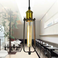 Vintage Industrial LED Metal Cage Ceiling Pendant Light Industrial Lampshade