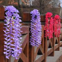 Artifical Hydrangea Silk Ivy Vine Flower DIY Hanging Garland Wedding Home Decor