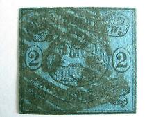 Braunschweig Mi.-Nr. 7 mit Nummernstempel '9.' -(A)