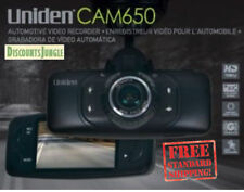 Uniden CAM650 Dash Cam HD Automotive Video Recorder with GPS (Black)