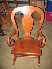 NEW ENGLAND DELIVERY? Tell City Farmhouse Rocker 684 Maple Rocking Chair