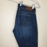 Women's Lucky Brand Jeans Sofia Boot Dark Wash Ankle Size 28 Inseam 30 Mid Rise