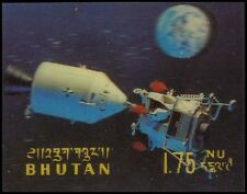 BHUTAN 108G (Mi320) - Apollo 11 Lunar Mission (pf34519)