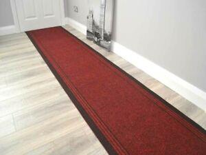 Very Long Hallway Rug Heavy Duty Hall Runner Non Slip Rubber Back Extra Length