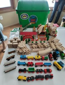 Brio Train Set and Thomas & Friends in case HUGE LOT