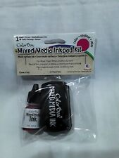 Color Box mixed media ink pad kit Pink .25 fl oz New in Package
