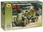 BA-10 Soviet Armored Car 1:3 5 Plastic Model Kit 3617 Zvezda
