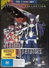 Starship Operators - Complete Collection 3 Disc Set (DVD, 2011) Region 4