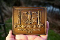 seltene Medaille Bronze Spree Havel 1933 Ruderverband gr. Punktwanderung