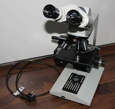 Zeiss microscopio microscope laboval 4 con iluminación y 3 objetiva