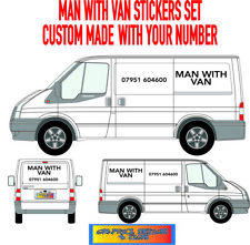SMALL CUSTOM VAN VEHICLE GRAPHICS SIGN WRITING KIT DECALS STICKERS LETTERING