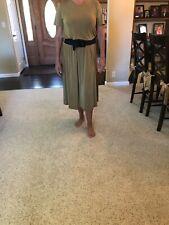 JOSTAR SLINKY DRESS- NEW- SIZE SMALL PURPLE SHORT SLEEVE