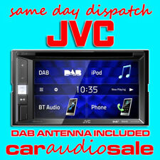 JVC KW V255DBT TOUCH SCREEN BT DAB DOUBLE DIN DVD MP3 USB APPLE ANDROID STEREO