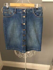 Fat Face Denim Skirt