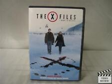 The X-Files: I Want to Believe (DVD, 2009)
