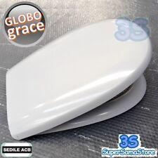 3S SEDILE COPERCHIO COPRI WC GRACE Ceramica GLOBO in TERMOINDURENTE ERCOS NUOVO