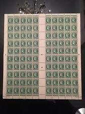 Planche neuve, Feuille, Cérès de Mazelin 0,80 Fr X 100 timbres neufs