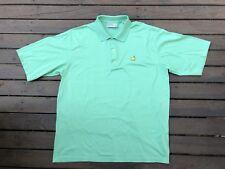 augusta national Masters Mens Polo Golf Shirt Size XL Flag Logo