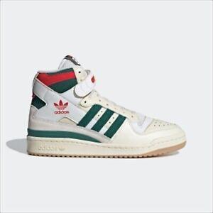 ADIDAS ORIGINALS FORUM 84 HIGH CELTICS WHITE GREEN RED GX9055 US 7