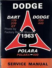 dodge dart service manual