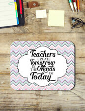 Teachers Gifts Teaching Quote Mouse Pad Easy Glide Non Slip Neoprene