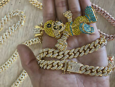 """fashion iced out chain 22"""""""