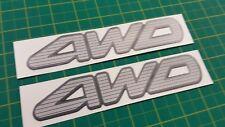 Mitsubishi Pajero SFX Montero Shogun 4x4 remplacement decals stickers V60 MK3 3.8