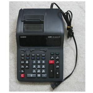 Casio FR-2650TM 2-Color Professional Desktop Printing Calculator Adding Machine