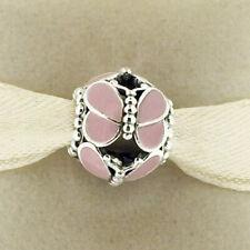 GENUINE PANDORA Pink Butterflies Charm 797855EN160 POSTAGE INCLUDED