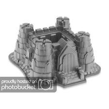 Silikon Backform Burg Schloss Festung für Party, Kindergeburtstag 3D Kuchenform