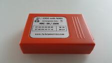 HBC Akku 6,0 Volt / 1500 mAh NiMH  -Nachbau-- Rechnung-- neu-- BA205000 u.s.w.