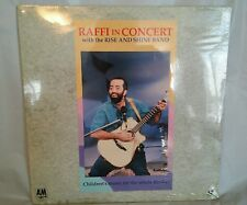 RAFFI IN CONCERT WITH THE RISE AND SHINE BAND..NEW LASERDISC,extremely rare!!!!!