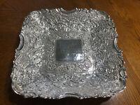 Bombay Co. Square Silver Tray