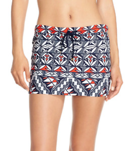 Tory Burch Acoma Swim Cover Up Skirt MSRP $125 Size M # U8 444 NEW