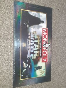 Star Wars Monopoly - Classic Trilogy Edition 1997 - SEALED