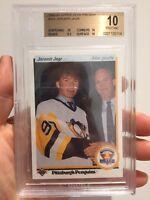1990-1991 Upper Deck French Jaromir Jagr Rookie Card