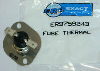 WP9759243 for Whirlpool Kitchenaid Thermal Fuse Thermostat AP3885687 PS974727