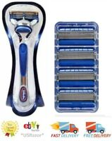 4 Hydro 5 Connect Blades Cartridges Refill Shaver & Gillette Fusion Razor handle