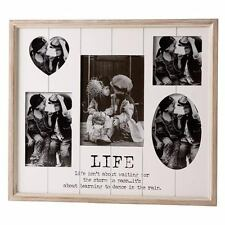 Life Family Friends Multi Photo Picture Wall Frame Sign Plaque Decoration Gift
