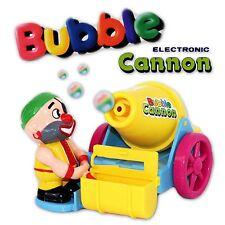 Seifenblasen Blasen Maschine Pistole elektrisch mit Sound gelb 21x14 cm NEU OVP
