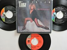 4 'IKE & TINA/TINA TURNER' HIT 45's+1PS[What's Love Got To Do With It]70's&80's!
