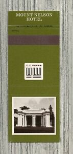 South Africa Matchbook Cover-Mount Nelson Hotel-1557