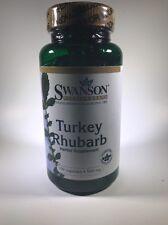 Turkey Rhubarb Rheum Palmatum Root 500Mg 100 Pills Capsules