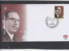 Malta 2016 Dom Mintoff First Day Cover FDC