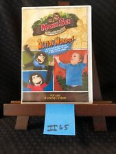 Howie & Skip'S ~ Monkisee: Action Words Dvd! Excellent! Free Shipping! Ii65