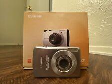 Canon PowerShot Digital ELPH SD630 / IXUS 65 6.0MP Camera Silver Used w/ Box