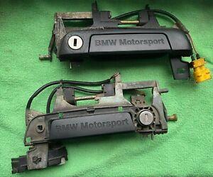 BMW E36 M3 Door Handles Pair BMW Motorsport Türgriffe Front doors 1991 1992 1993